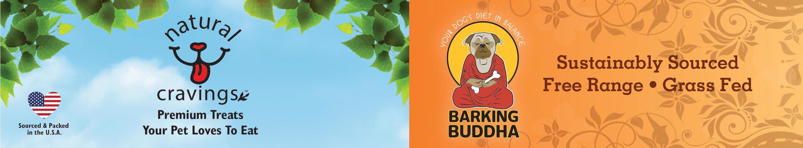 Natural Cravings Pet Treats & Barking Buddha Pet Products